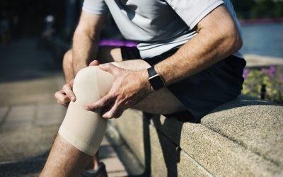 Knie, hoofdpijn, pijn in hand genezen